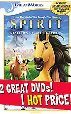 Spirit: Stallion of the Cimarron/The Road to El Dorado