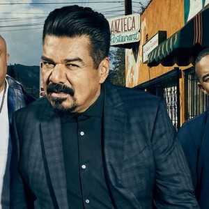 Anthony Campos, George Lopez and Maronzio Vance (from left)
