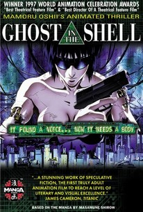 Ghost In The Shell 1996 Rotten Tomatoes
