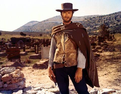 Clint Eastwood as Blondie
