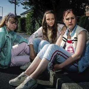Liv Hill, Molly Windsor and Ria Zmitrowicz (from left)