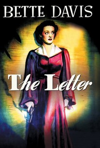 Poster for The Letter (1940)