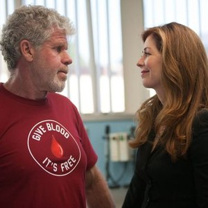 Ron Perlman (left) and Dana Delany