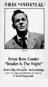 Front Row Center: Tender Is the Night