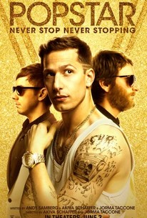 Popstar: Never Stop Never Stopping movie poster