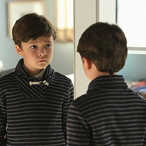 Pictured Pierce Gagnon as Ethan Woods.