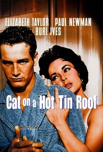 Poster for Cat on a Hot Tin Roof (1958)
