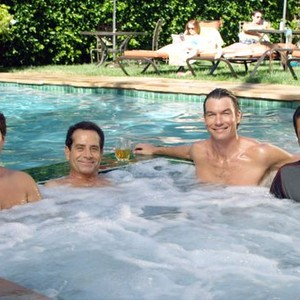 Chris Smith, Tony Shalhoub, Jerry O'Connell and Kal Penn (from left)