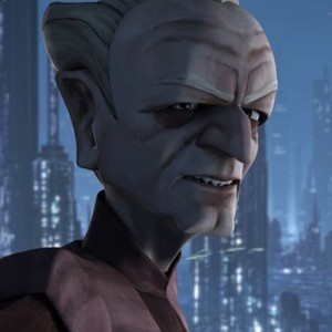 Chancellor Palpatine is voiced by Ian Abercrombie