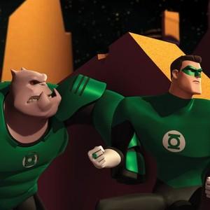 Kilowog (left) and Green Lantern