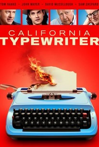 California Typewriter poster