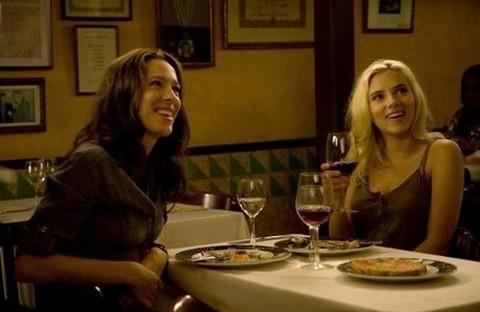 Rebecca Hall & Scarlett Johansson
