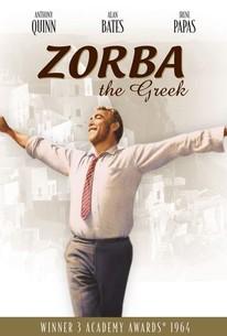 Poster for Zorba the Greek (1964)