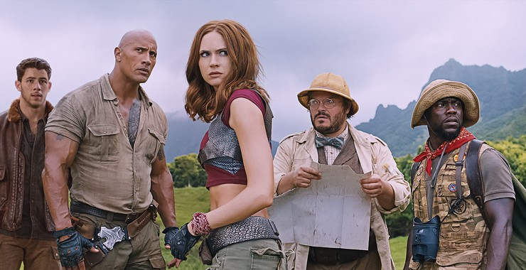 Jumanji Welcome To The Jungle 2017 Rotten Tomatoes