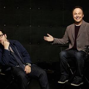 Josh Gad (left) and Billy Crystal