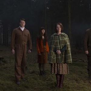 Will Sharpe, Daniel Rigby, Sophia Di Martino, Olivia Colman and Julian Barratt (from left)