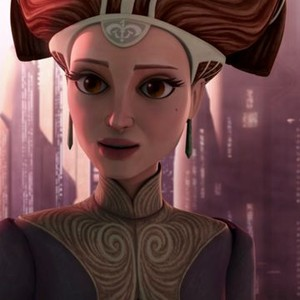 Padmé Amidala is voiced by Catherine Taber