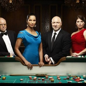 Toby Young, Padma Lakshmi, Tom Colicchio, and Gail Simmons (from left)