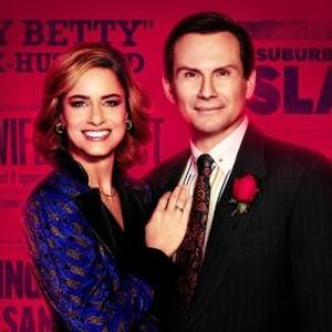"""Amanda Peet as Betty Broderick and Christian Slater as Dan Broderick in """"Dirty John."""""""