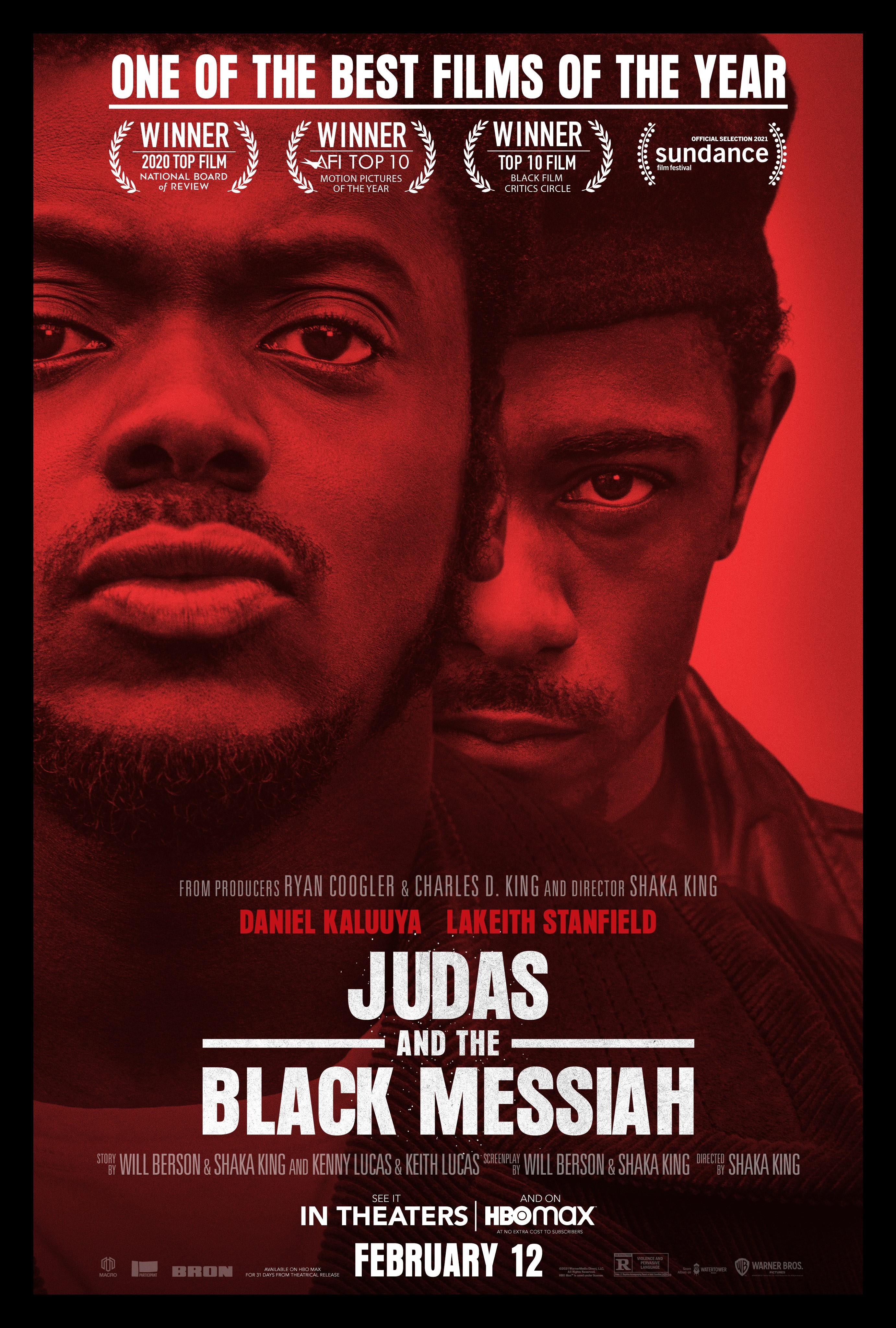 Judas and the Black Messiah (2021) - Película Globos de Oro 2021