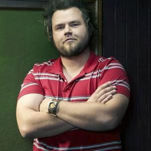 """Tyler Labine as Bert """"Sock"""" Wysocki"""