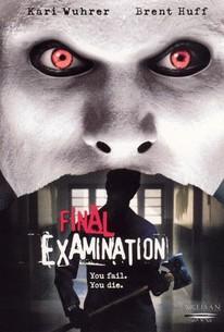Final Examination