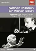 Nathan Milstein & Adrian Boult: Beethoven: Violin Concerto and Vaughan Williams: Symphony No. 8