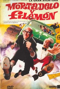 La Gran aventura de Mortadelo y Filemón (Mortadelo & Filemon: The Big Adventure)