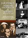 Jan Peerce, Marian Anderson & Andres Segovia