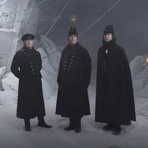 Ciarán Hinds, Tobias Menzies and Jared Harris (from left)