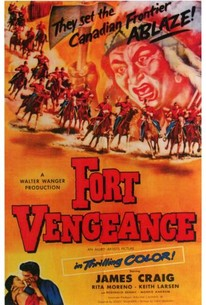Poster for Fort Vengeance (1953)