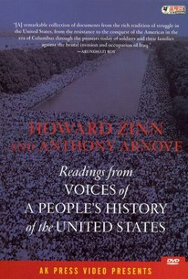 Howard Zinn And Anthony Arnove Readings From Voices Of A