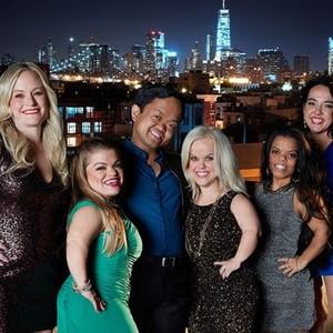 Katie Snyder, Dawn Lang, Jason Perez, Lila Call, Jazmin Lang and Jessica Capri (form left)