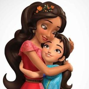 Princess Elena (left) and Isabel