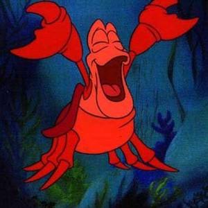 Sebastian is voiced by Samuel E. Wright