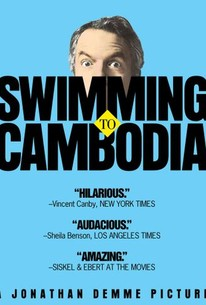Swimming To Cambodia