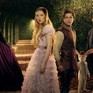 Naveen Andrews, Sophie Lowe, Peter Gadiot, The White Rabbit and Michael Socha (from left)