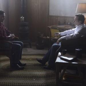 Orphan Black: Season 2, Episode 9, Mark (Ari Millen) and Johanssen (Peter Outerbridge)