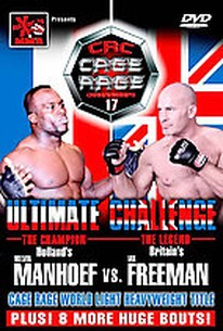 Maximum MMA presents - Cage Rage 17: Ultimate Challenge