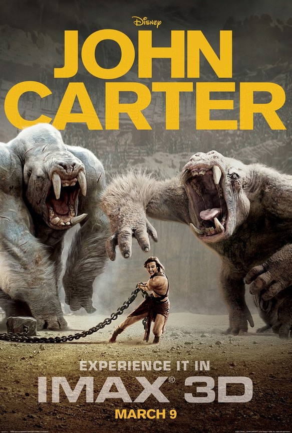 John Carter 2012 Hindi Dubbed Movie in BluRay 720p | 750MB | Watch Online | Download |
