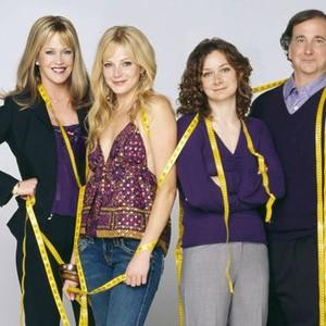 Melanie Griffith, Molly Stanton, Sara Gilbert and Mark Linn-Baker (from left)