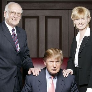 George Ross, Donald Trump and Carolyn Kepcher (from left)