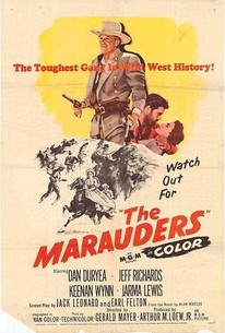 Poster for The Marauders (1955)