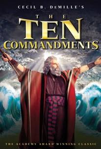 The ten commandments (1956) rotten tomatoes.
