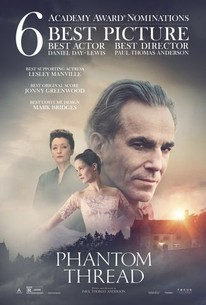Phantom Thread 2018 Rotten Tomatoes