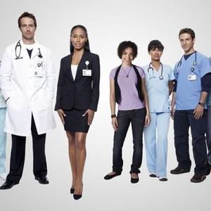 Vanessa Lengies, Michael Vartan, Jada Pinkett Smith, Hannah Hodson, Suleka Mathew, David Julian Hirsh and Christina Moore (from left)