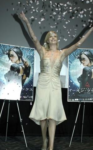 """Aeon Flux"" Tokyo Premiere - Inside"