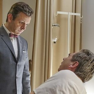 Masters of Sex (season 2, episode 1): Michael Sheen as Dr. William Masters and Beau Bridges as Barton Scully
