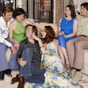 Grant Show, Lana Parrilla, Jack Davenport, Molly Parker, Miriam Shor and Josh Hopkins (from left)
