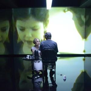 Orphan Black: Season 2, Episode 10, Rachel (Tatiana Maslany) and Ethan (Andrew Gillies)